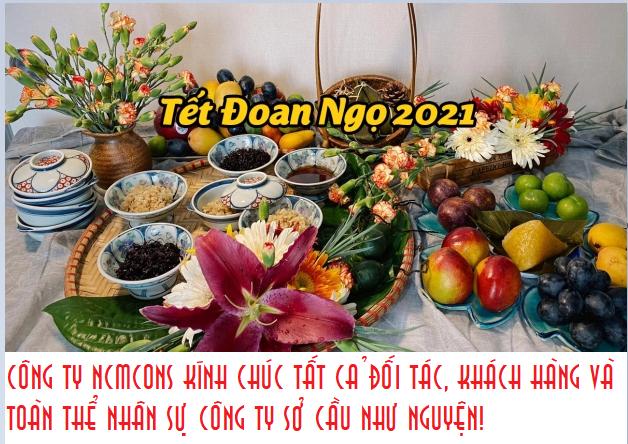 Chúc mừng Tết Đoan Ngọ 2021